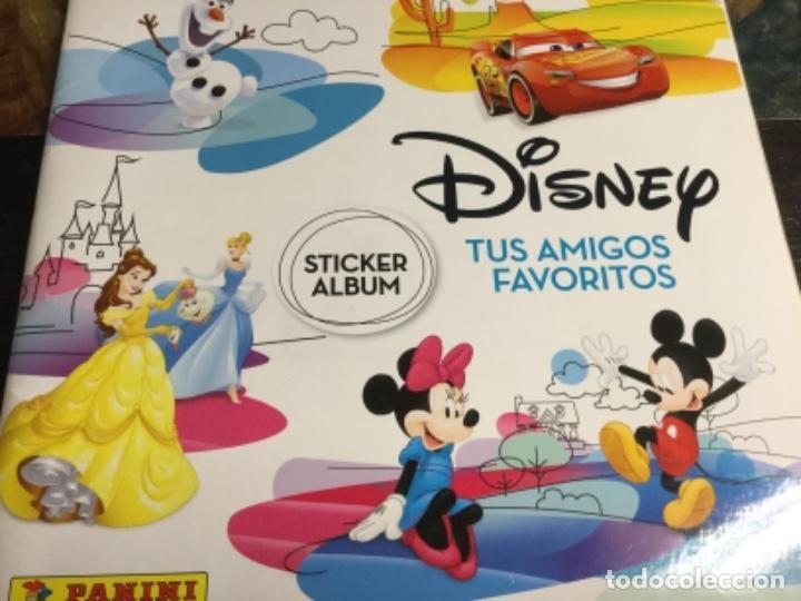 ALBUM DISNEY TUS AMIGOS FAVORITOS - ALBUM PLANCHA NUEVO Y 192 CROMOS SIN PEGAR NUEVOS - LOTE 2 (Coleccionismo - Cromos y Álbumes - Álbumes Completos)
