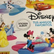 Coleccionismo Álbum: ALBUM DISNEY TUS AMIGOS FAVORITOS - ALBUM PLANCHA NUEVO Y 192 CROMOS SIN PEGAR NUEVOS - LOTE 2. Lote 194356503