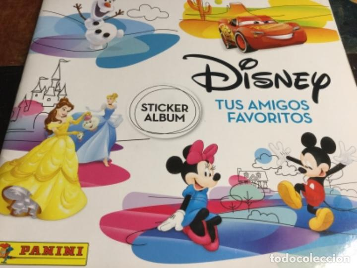 ALBUM DISNEY TUS AMIGOS FAVORITOS - ALBUM PLANCHA NUEVO Y 192 CROMOS SIN PEGAR NUEVOS - LOTE 3 (Coleccionismo - Cromos y Álbumes - Álbumes Completos)