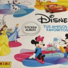 Coleccionismo Álbum: ALBUM DISNEY TUS AMIGOS FAVORITOS - ALBUM PLANCHA NUEVO Y 192 CROMOS SIN PEGAR NUEVOS - LOTE 3 . Lote 194356561