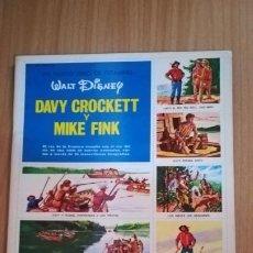 Coleccionismo Álbum: ALBUM DAVY CROCKETT Y MIKE FINK, WALT DISNEY, AÑO 1970. Lote 194360933