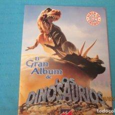 Coleccionismo Álbum: EL GRAN ALBUM DE LOS DINOSAURIOS MV. Lote 194389085