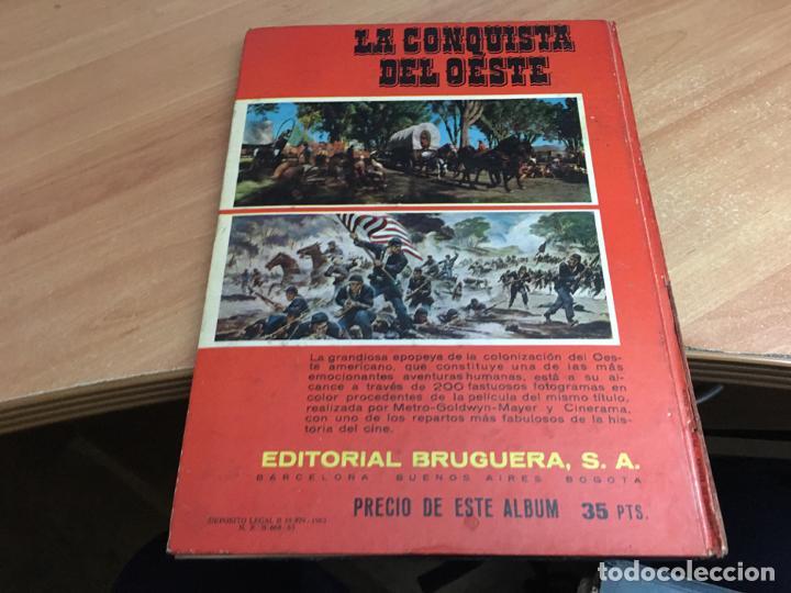 Coleccionismo Álbum: LA CONQUISTA DEL OESTE ALBUM COMPLETO BRUGUERA TAPA DURA 1963 (COIB59) - Foto 3 - 194504620