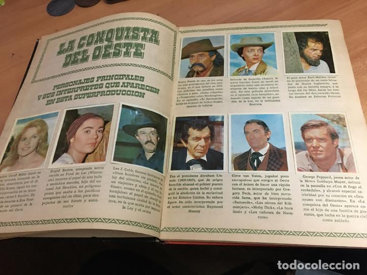 Coleccionismo Álbum: LA CONQUISTA DEL OESTE ALBUM COMPLETO BRUGUERA TAPA DURA 1963 (COIB59) - Foto 5 - 194504620