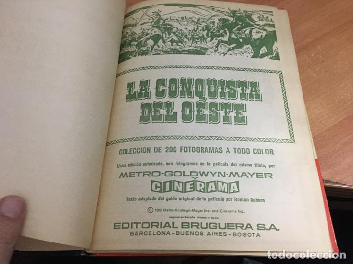Coleccionismo Álbum: LA CONQUISTA DEL OESTE ALBUM COMPLETO BRUGUERA TAPA DURA 1963 (COIB59) - Foto 6 - 194504620