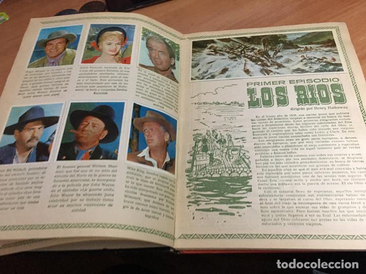 Coleccionismo Álbum: LA CONQUISTA DEL OESTE ALBUM COMPLETO BRUGUERA TAPA DURA 1963 (COIB59) - Foto 8 - 194504620