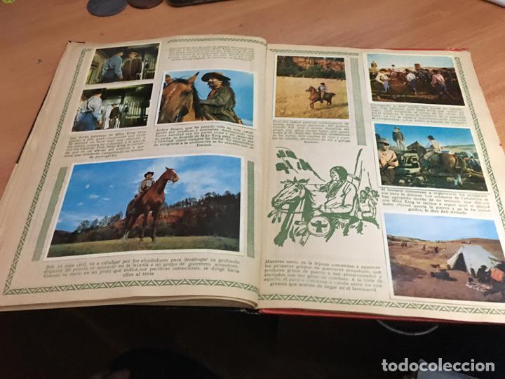 Coleccionismo Álbum: LA CONQUISTA DEL OESTE ALBUM COMPLETO BRUGUERA TAPA DURA 1963 (COIB59) - Foto 29 - 194504620