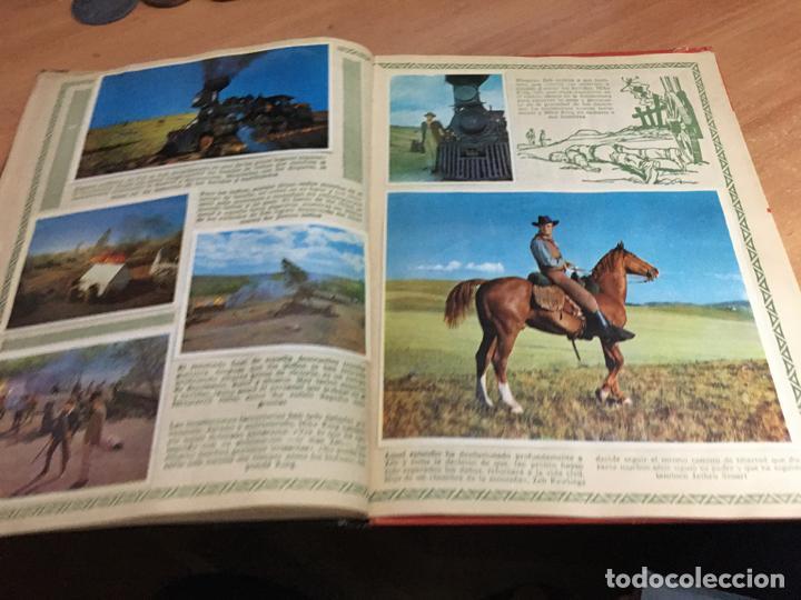 Coleccionismo Álbum: LA CONQUISTA DEL OESTE ALBUM COMPLETO BRUGUERA TAPA DURA 1963 (COIB59) - Foto 30 - 194504620