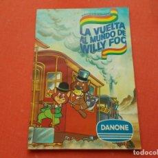 Coleccionismo Álbum: LA VUELTA AL MUNDO DE WILLY FOG DE DANONE COMPLETO. Lote 194532760