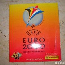 Collectionnisme Album: UEFA EURO 2000 PERFECTO Y COMPLETO MUY BONITO PANINI MUY RARO. Lote 194593770