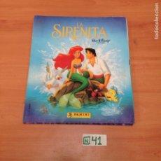 Coleccionismo Álbum: LA SIRENITA. Lote 194594362