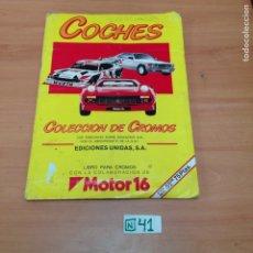 Coleccionismo Álbum: COCHES COMPLETO. Lote 194594388