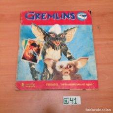 Coleccionismo Álbum: GREMLINS COMPLETO. Lote 194594481