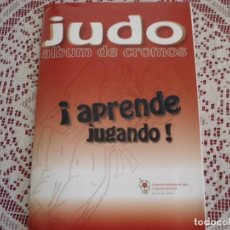 Coleccionismo Álbum: JUDO APRENDE JUGANDO . Lote 194600156