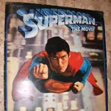 Coleccionismo Álbum: ALBUM DE CROMOS SUPERMAN THE MOVIE CINE - FHER 1979 CON POSTER COMPLETO. Lote 194606293