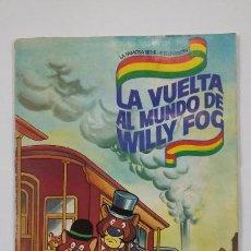 Coleccionismo Álbum: LA VUELTA AL MUNDO DE WILLY FOG. DANONE. ALBUM DE CROMOS COMPLETO. TDKC47. Lote 194616457