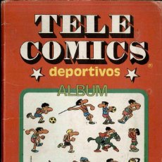 Coleccionismo Álbum: TELE COMICS DEPORTIVOS, SERIE 1 DIBUJADA POR JAN. Lote 194626715