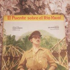 Coleccionismo Álbum: ALBUM COMPLETO EL PUENTE SOBRE EL RIO KWAI. Lote 194638755