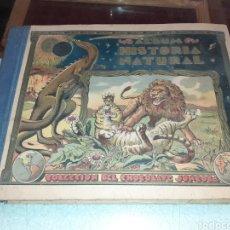 Coleccionismo Álbum: ÁLBUM COMPLETO HISTORIA NATURAL. Lote 194660791