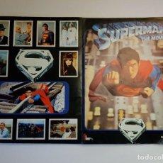 Coleccionismo Álbum: FHER - SUPERMAN THE MOVIE - ALBUM DE CROMOS COMPLETO. Lote 194692396