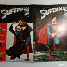 Coleccionismo Álbum: FHER - SUPERMAN II - ALBUM DE CROMOS COMPLETO. Lote 194692478