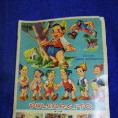Coleccionismo Álbum: PULGARCITO. DE LOS AÑOS 60. COMPLETO. Lote 194692776