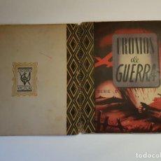 Coleccionismo Álbum: VICTOR - CROMOS DE GUERRA SERIE B - ALBUM DE CROMOS COMPLETO. Lote 194698635