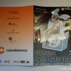 Coleccionismo Álbum: ALBUM DELS BOTIGUERS DE MANRESA - 174 CROMOS COMPLETO. Lote 194699055