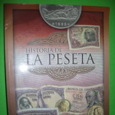 Coleccionismo Álbum: HISTORIA DE LA PESETA - ALBUM DE BILLETES - ( COMPLETO ) - UN POCO DESPEGADO - VER FOTO ADICIONAL. Lote 194730455