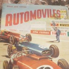 Coleccionismo Álbum: ALBUM COMPLETO AUTOMOVILES AÑO 1958. Lote 194737002