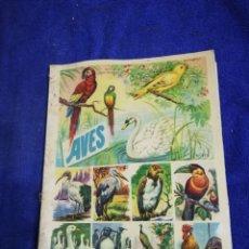 Coleccionismo Álbum: AVES. ABUN CROMOS DE AVES. Lote 194763155
