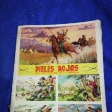 Coleccionismo Álbum: ALBUM CROMOS. PIELES ROJAS. Lote 194763570