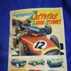 Coleccionismo Álbum: LAS GRANDES CARRERAS LABOR DE TITANES. Lote 194765380