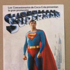 Coleccionismo Álbum: SUPERMAN ALBUM COCA-COLA. Lote 194860827