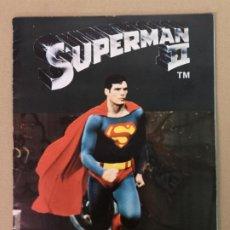 Coleccionismo Álbum: ALBUM DE CROMOS SUPERMAN II EDT. FHER. Lote 194875396