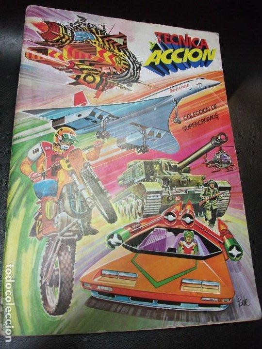 ALBUM DE CROMOS TECNICA Y ACCION DE ESTE CROMO 1980 COMPLETO (Coleccionismo - Cromos y Álbumes - Álbumes Completos)