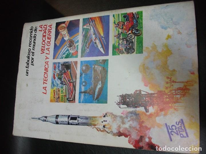 Coleccionismo Álbum: ALBUM DE CROMOS TECNICA Y ACCION DE ESTE CROMO 1980 COMPLETO - Foto 3 - 194882260