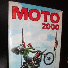Coleccionismo Álbum: ALBUM DE CROMOS MOTO 2000 EDICIONES VULCANO 1973 COMPLETO. Lote 194882716