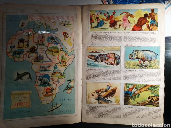 Coleccionismo Álbum: Album de cromos Completo DE LA SELVA MISTERIOSA A LOS ABISMOS DEL MAR - Foto 5 - 194887642