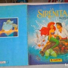 Coleccionismo Álbum: ALBUM DE CROMOS LA SIRENITA. WALT DISNEY. Lote 194893348