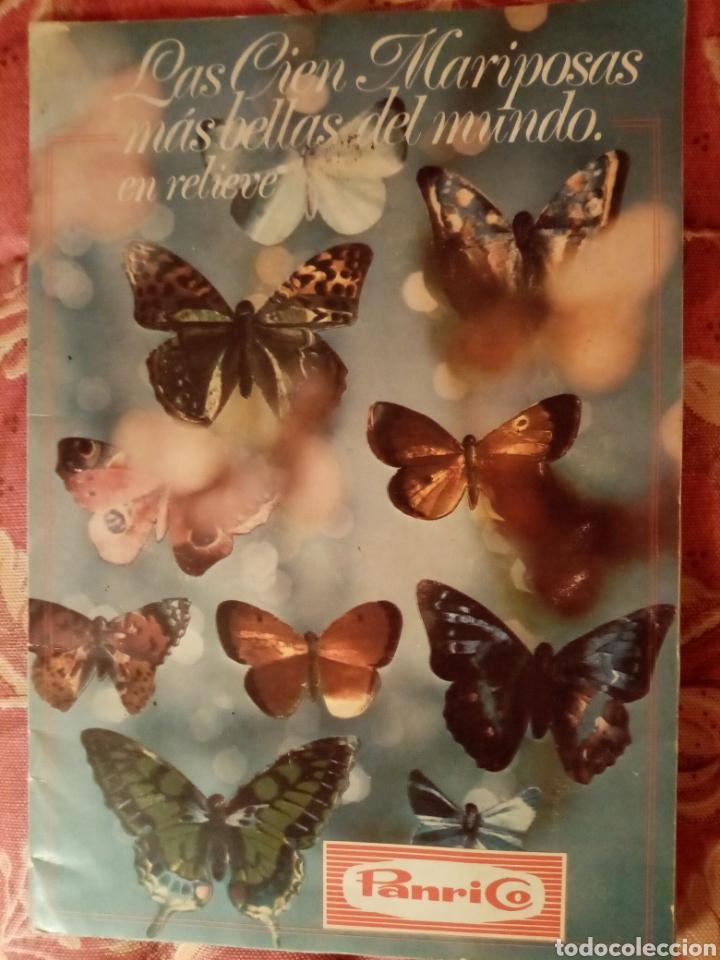 LAS 100 MARIPOSAS MÁS BELLAS DEL MUNDO (Coleccionismo - Cromos y Álbumes - Álbumes Completos)