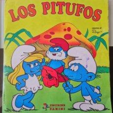Coleccionismo Álbum: ALBUM CROMOS ED. PANINI CROMO CROM - LOS PITUFOS - THE SMURFS COMPLETO BE. Lote 194912855