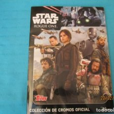 Coleccionismo Álbum: STAR WARS ROGUE ONE TOPPS. Lote 194915887
