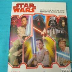 Coleccionismo Álbum: STAR WARS EL CAMINO DE LOS JEDI. Lote 194916017