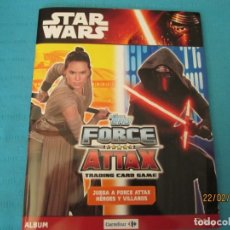 Coleccionismo Álbum: STAR WARS FORCE ATTAX TOPPS CARREFOUR. Lote 194916346