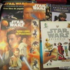 Coleccionismo Álbum: STAR WARS LOTE . Lote 194921236