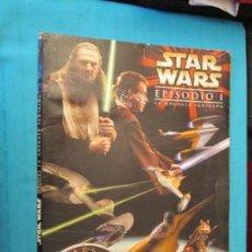 Coleccionismo Álbum: STAR WARS COMPLETO . Lote 194921482