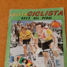 Coleccionismo Álbum: VUELTA CICLISTA ASES DEL PEDAL COMPLETO. Lote 194971558