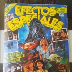Coleccionismo Álbum: ÁLBUM CROMOS EFECTOS ESPECIALES ED. ASTON COMPLETO CON PÓSTER. Lote 194971568