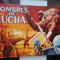 Coleccionismo Álbum: ÁLBUM CROMOS HOMBRES DE LUCHA ED. RUÍZ ROMERO. Lote 194981557